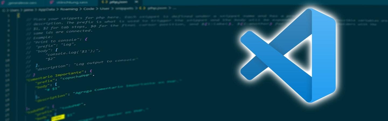 Como crear Snippets personales en VS Code