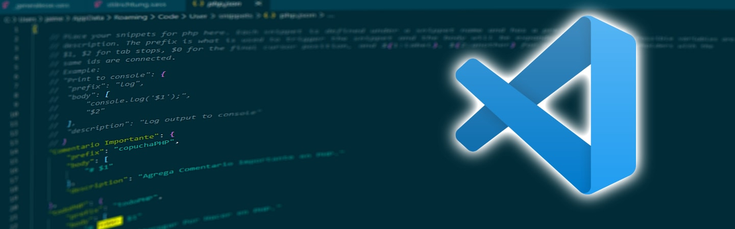 How to create personal snippets in VS Code