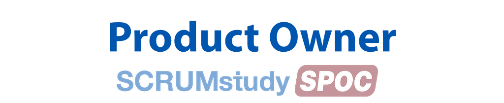 Scrum Product Owner Certified