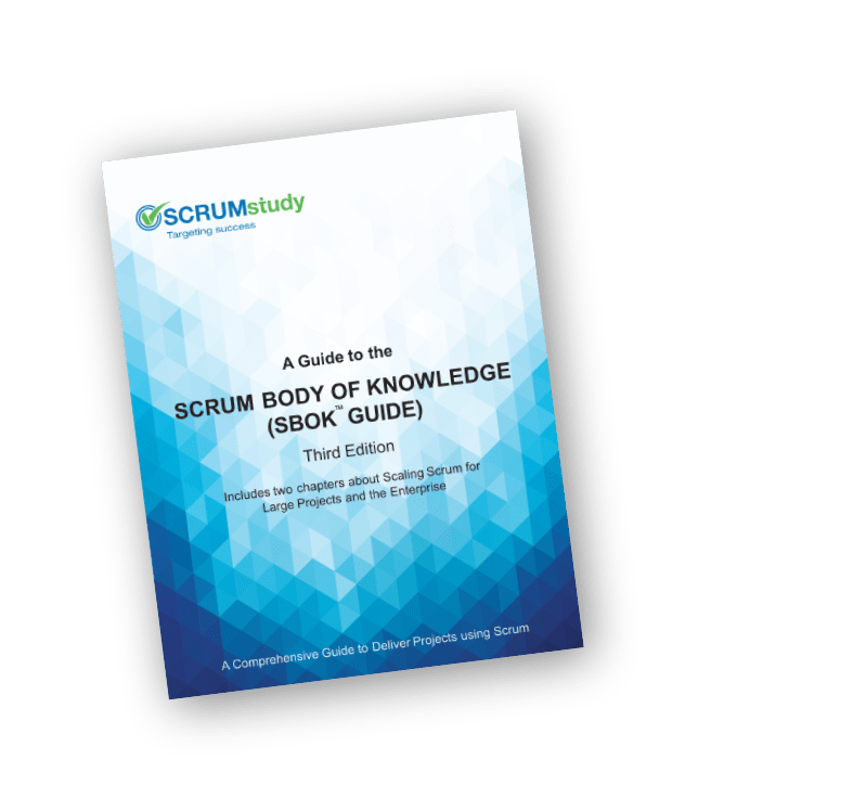 Take advantage of this opportunity! Download SCRUMStudy's FREE SBOK Scrum in ENGLISH... or in the language of your choice.
